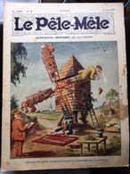 Le Pele Mele  Couverture Par Leguey 16 Juin 1912 Moulin A Vent Domino - Journaux - Quotidiens