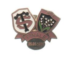 PINS PIN'S RUGBY ST RCT TOULOUSE TOULON 1985 EGF - Rugby
