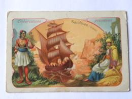 Chromo Chicoréé A LA BELLE JARDINIERE - Beriot Lille - Embarcations Primitives - Sacolèves (Grèce) - Trade Cards