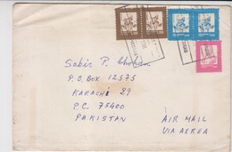 Great Britten Cover To Pakistan    (Red-2226) - Uruguay