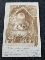 Nonnenwerth Bij Bad Honnef // Fotokarte // Weinachts Krib E ? // Used 1903! - Bad Honnef