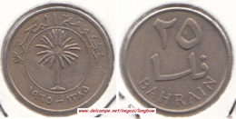 Bahrain 25 Fils 1965  Isa Bin Salman KM#4 - Used - Bahrein