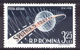 Roumanie - 1958 - PA N° 87 - Neuf ** - Satellite - Unused Stamps
