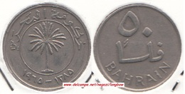 Bahrain 50 Fils 1965  Isa Bin Salman KM#5 - Used - Bahrain