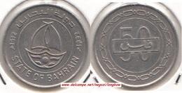 Bahrain 50 Fils 1992  Isa Bin Salman KM#19 - Used - Bahrain