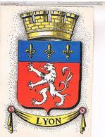 34  Blason Ecusson Armes  LYON - Lyon