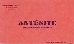 Buvard : ANTESITE - N. Perrot à Voiron (Isère) - NEUF - - Buvards, Protège-cahiers Illustrés
