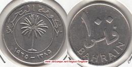 Bahrain 100 Fils 1965  Isa Bin Salman KM#6 - Used - Bahreïn