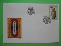 2010 Joint Egypt / Slovakia - Slovak FDC - Joint Issues
