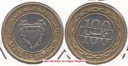 Bahrain 100 Fils 1995  Isa Bin Salman KM#20 - Used - Bahrain