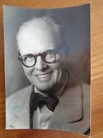 PHOTO AVEC DEDICACE DE Mr ORY RENE ( JE CROIS ) , BELLE VIGNETTE UNION DES ARTISTES - ( PHOTO BLANC ET DEMILLY ) - Autographs