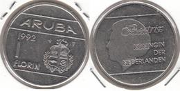 Aruba 1 Florin 1992 Queen Beatrix KM#5 - Used - [ 4] Colonies