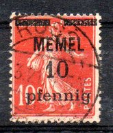 Memel Y&T 19° - Memel (1920-1924)