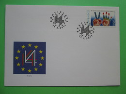 2011 Joint Czechia / Hungary / Poland / Slovakia - 20th Anniversary Of The Visegrad Group - Slovak FDC - Joint Issues