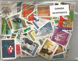Lot 500 Timbres Du Canada - Canada