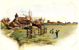 [DC7522] CPA - CASA DI CAMPAGNA - Old Postcard - Ansichtskarten