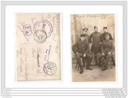 7385 C.PHOTO/ 1895 CAMP BAUTZEN  POSTKARTE W.W.1./CORRESPONDANCE DE PRISONNIER /CACHET CAMP DE BAUTZEN/ ENVOYE A LONDRES - Bautzen