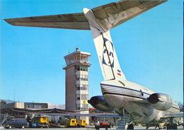 EX.YU.  The Ljubljana Aerodrome. `INEX ADRIA AIRWAYS. `DC-9 SERIES 30. - Aerodromi