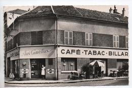 "TAVERNY (78) - LE CAFE TABAC ""AUX CAMELIAS"" - France"