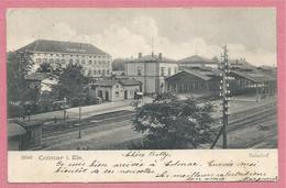 68 - COLMAR - Ancienne Gare Côté Voies - Alt Bahnhof - Colmar