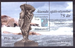 Aland - 1997 - BF N° 3 - Neuf ** - 75 Ans Autonomie - Aland