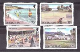 Tourisme - Montserrat - 1986 - N° 636 à 639 - Neufs ** - Holidays & Tourism
