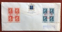 FILATELIA SICILIA 59 PALERMO 2/1/1959 CENTENARIO DEI FRANCOBOLLI DI SICILIA - Francobolli
