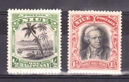 Niue - 1920 - N° 26 Neuf * Et 28 Neuf ** - Niue