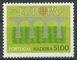MADEIRA 1984 Mi-Nr. 90 ** MNH - CEPT - Europa-CEPT
