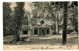 CPA 60 Oise Chantilly Château Le Hameau La Métairie - Chantilly