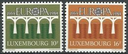 LUXEMBURG 1984 Mi-Nr. 1098/99 ** MNH - CEPT - Europa-CEPT