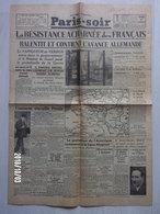 "Journal  ""Paris Soir"" N°6089 Du 20 Mai 1940 - Old Paper"