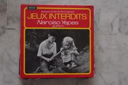 JEUX INTERDITS NARCISO YEPES EP DU FILM  DE 1970 BRIGITTE FOSSEY LANGUETTE - 45 T - Maxi-Single