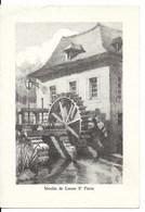 Sint Pieters Leeuw - Leeuw Saint Pierre (1600) - Minoterie : Dessin D'époque Du Moulin De Sint Pieters Leeuw. CPSM. - Sint-Pieters-Leeuw