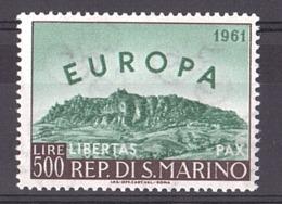 Saint-Marin - 1961- N° 523 - Neuf ** - Europa - Mont Titan - Neufs