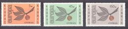 Chypre - 1965 - N° 250 à 252 - Neufs ** - Europa - Cyprus (Republic)