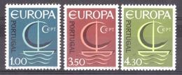 Portugal - 1966 - N°993 à 995 - Neufs ** - Europa - 1910-... République