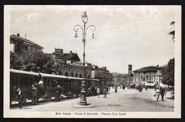 NOVI LIGURE (Italie) Gros Plan Sur Le Tram à Vapeur, Et Belle Animation - Alessandria