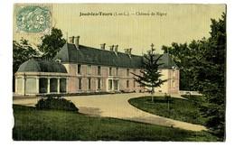 CPA 37 Indre Et Loire Joué-lez-Tours Château De Rigny - France