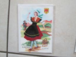 Région  ( Robe Brodée ) Auvergne - Brodées