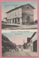 68 - SOUVENIR D' OSTHEIM - Bahnhof - Gare OSTHEIM - BEBLENHEIM - Rue De Colmar - Francia