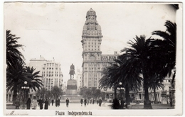 MONTEVIDEO - PLAZA INDEPENDENCIA - Formato Piccolo - Vedi Retro - Uruguay