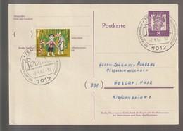 B 718) SSt 7.4.1962 7012 Fellbach, 100 Jahre Postamt - Post