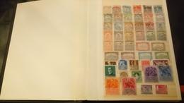 F01067 ALBUM TIMBRES HONGRIE + FRANCE + DIVERS A TRIER COTE ++ DÉPART 10€ - Collections (with Albums)