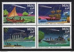 Palau - 1985 - Yvert N° 83 à 86 **  - Passage De La Comète De Haley - Palau