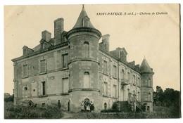 CPA 37 Indre Et Loire Saint-Patrice Château De Chabrole Animé - France