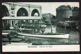 CIVITAVECCHIA (Italie) Piano TOP Sul Imbarco Dei Reali. - Transports