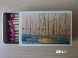 Boite D'allumettes (bateaux) Incomplète 42/50 Allumettes - Cajas De Cerillas (fósforos)