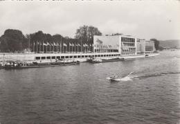 Belgique - Liège - La Meuse Et Palais Des Congrès - 1954 - Péniches Bâteau Hords-Bord - Liege
