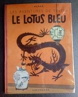 TINTIN - Le Lotus Bleu - B3 - 1949 - Ttbe - Hergé